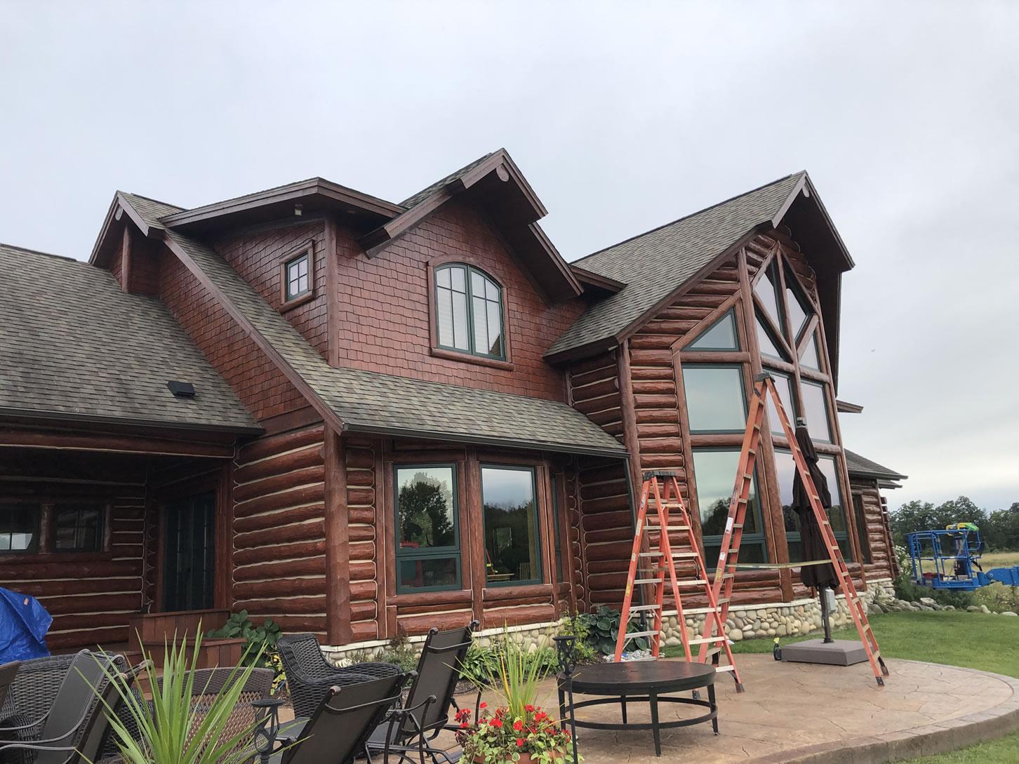 Log Amp Cedar Home Maintenance Doyle Log Home Services Inc