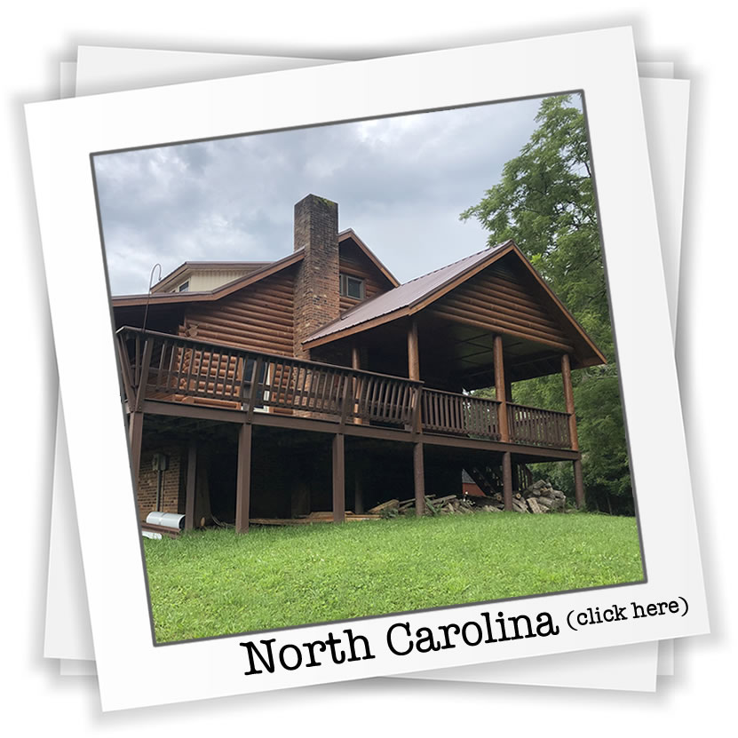 North Carolina Log Home Restoration
