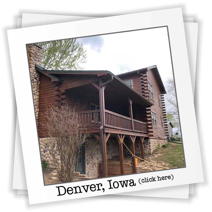 iowa log home restoration