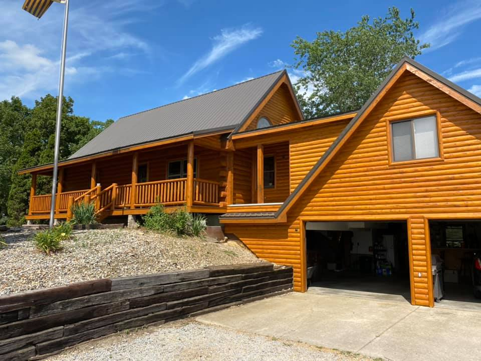 Indiana log home restoration
